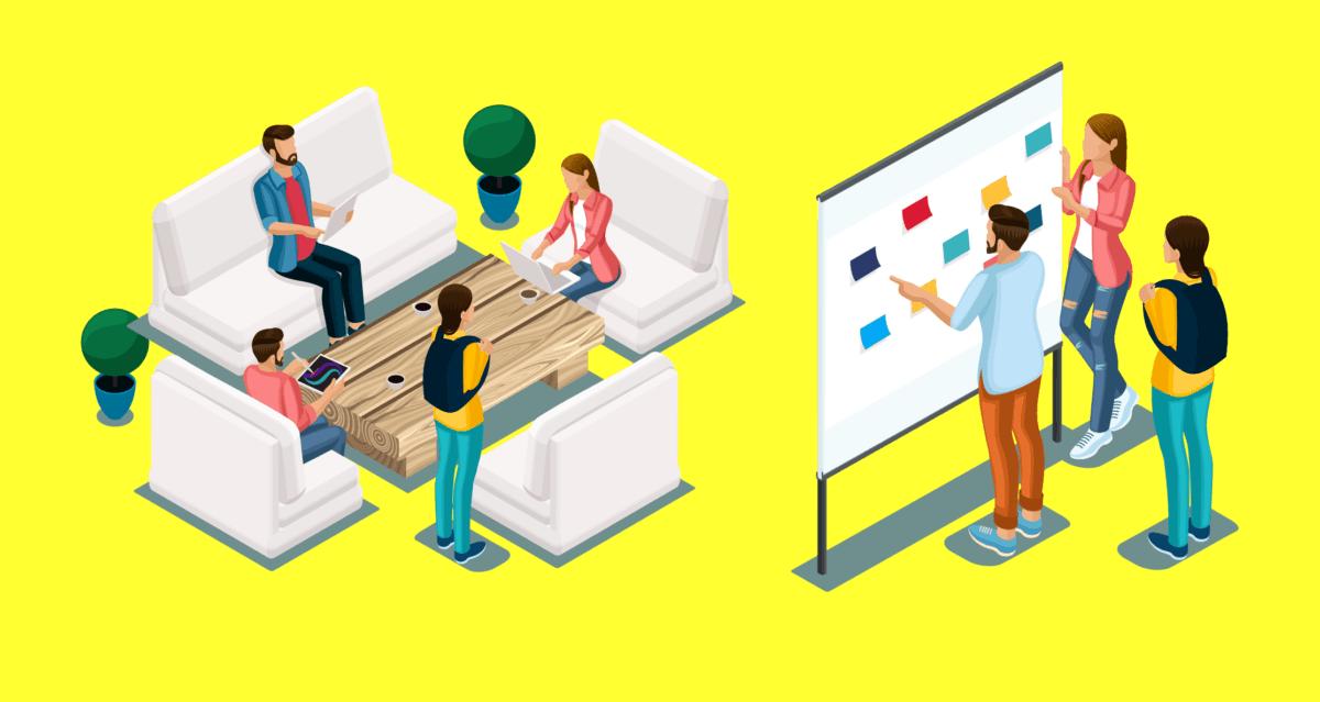Digital Mareting Tactics Team Team Meeting