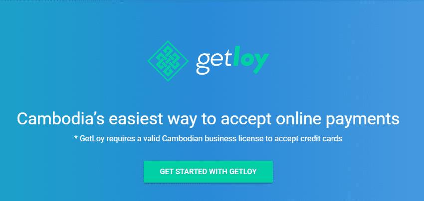 GetLoy Online Payment Gateway in Cambodia